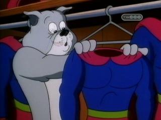 Том и Джерри в детстве 1 сезон 6 серия (Конфетка Бел любит Тома, иногда / Супер Дупер Спайк / Магазинная мышь)